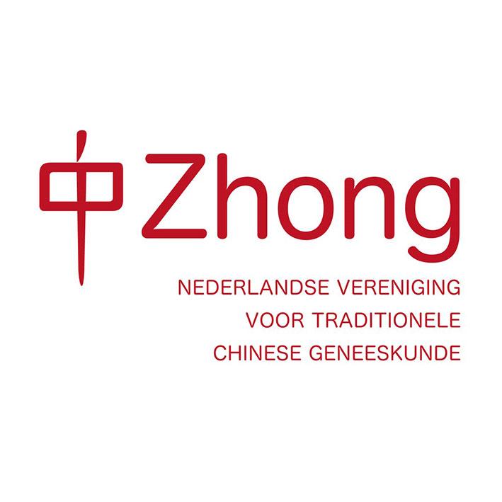 Logo Zhong Nederlandse vereniging Traditionele Chinese geneeskunde